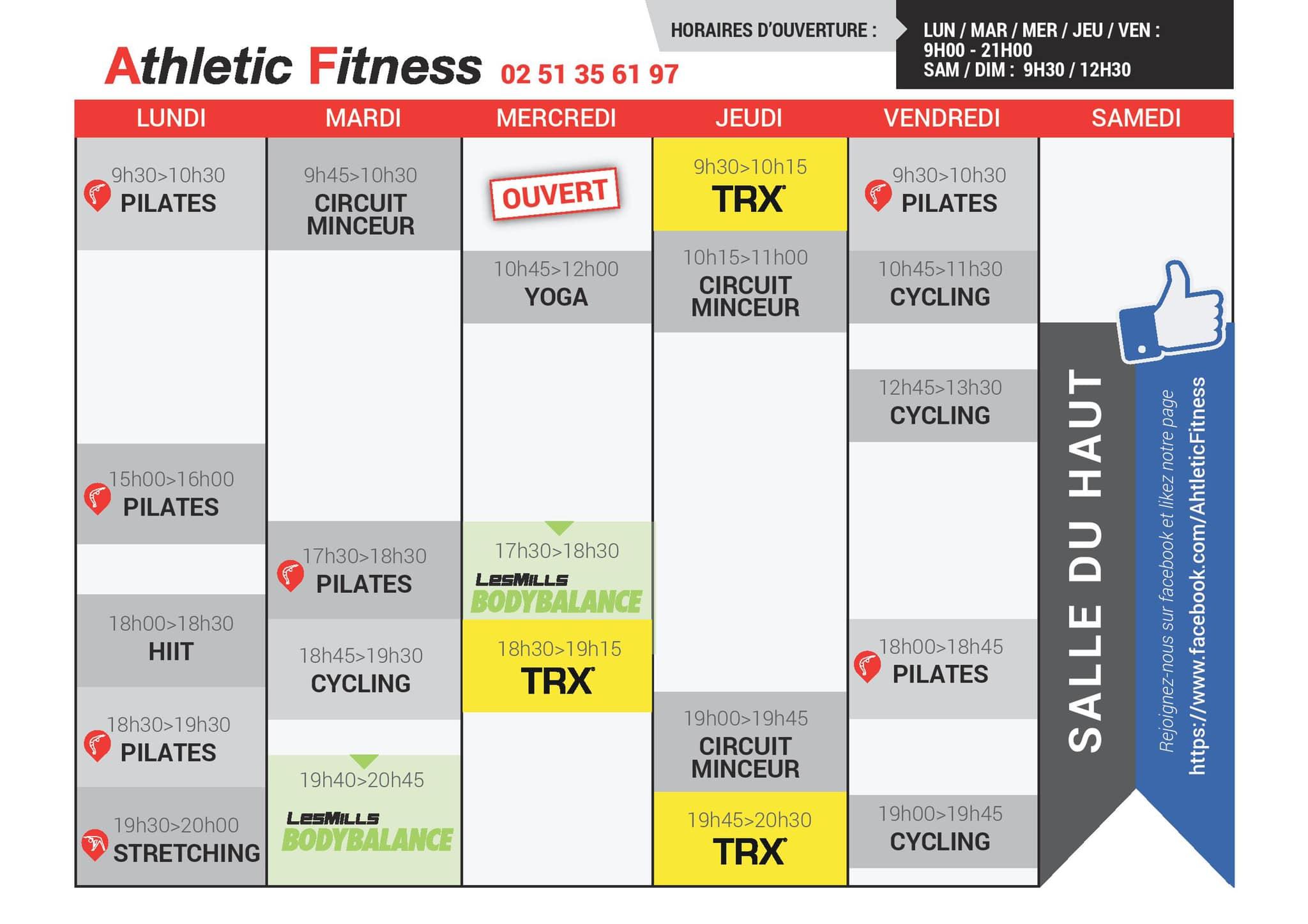 Athletic Fitness Challans Salle De Sports Et Remise En Forme